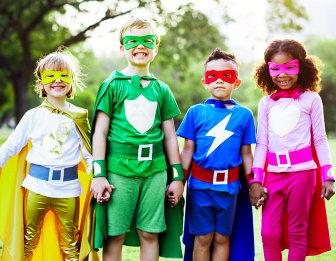 student superheroes